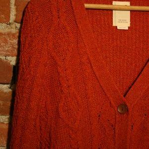 Anthropologie Sweaters - Anthropologie Wool Skirted Fisherman Cardigan